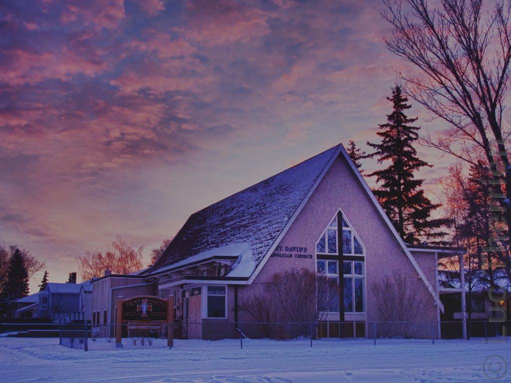 St. David's in Winter